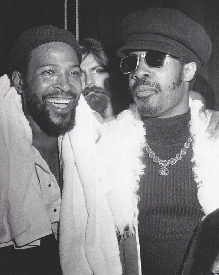 Marvin Gaye & Stevie Wonder                                                                                                                                                      More