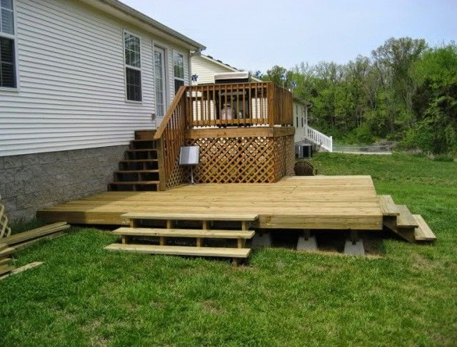 Building A Floating Deck On Uneven Ground Building A Floating Deck On Uneven Gr 2019 Building A Floating Deck Decks Backyard Floating Deck