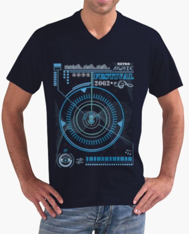 TECHNO RETRO MUSIC FESTIVAL - tienda online shop:  https://www.latostadora.com/Flip_Original_Designs/techno_retro_music_festival/1541773 - Camiseta  Diseño #cartel #música #retro en el futuro, #fusión entre #Tecnología y #nostalgia: lo que hoy es #actual será #vintage. Elementos #infográficos para este #arte, #cienciaficción a la manera de una #interfase/  #Tshirt #design #retro #music #poster in the #future, #fusion between #technology and #nostalgia: what today is current will be #vintage…