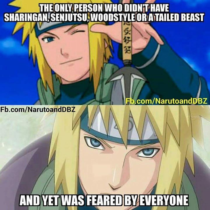 Minato actually did have senjutsu but he was very bad at it