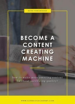 Become a Content Creating Machine #businessdegree #mastersdegree