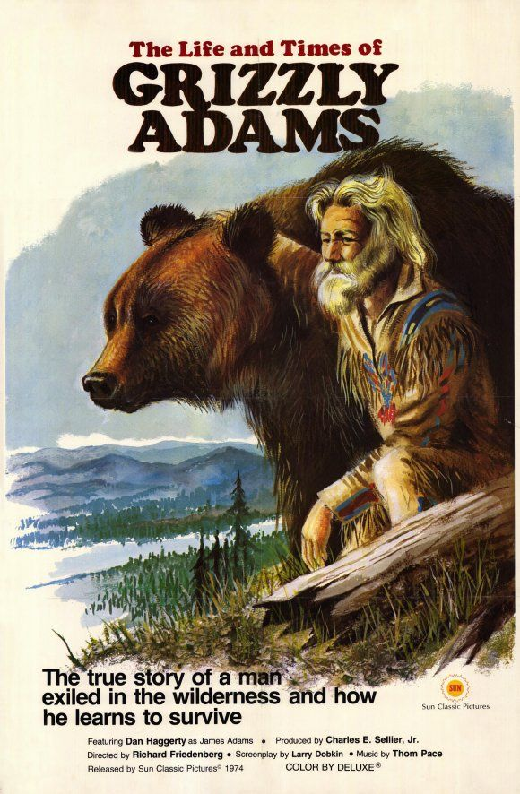 Grizzly Adams - I swear my husband looks like this everytime he comes home from Montana ;)