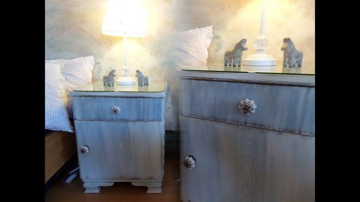 DIY: Von alt zu schön :)) Shabby Chic Möbel einfach, billig, großartig SELBST …