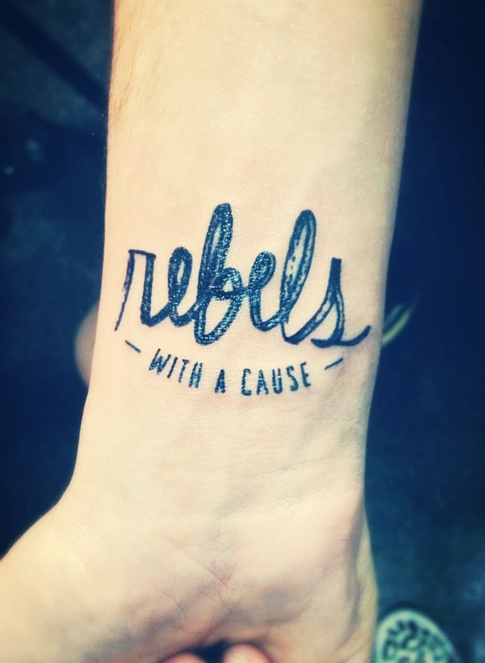 Rebels with a cause #tattoo