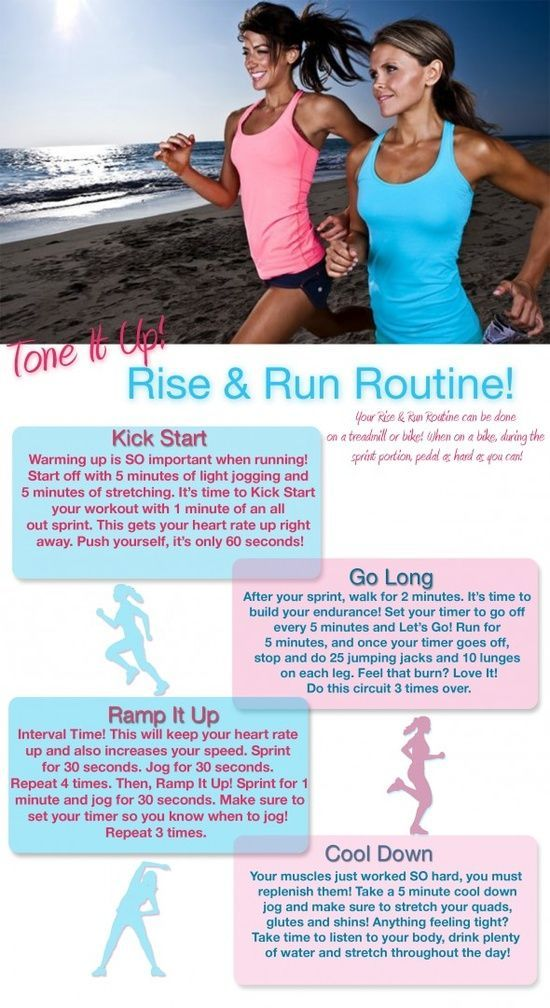 Rise and Run Routine. #Running Tips