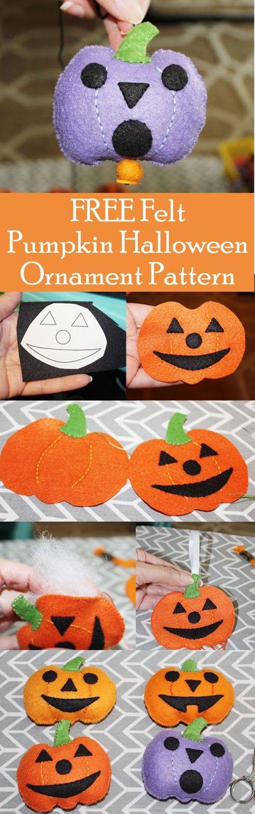 247 besten Fun Halloween Felt Crafts Bilder auf Pinterest
