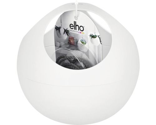 Flowerpot elho b.  For soft air plastic Ø 18 H 16 cm white