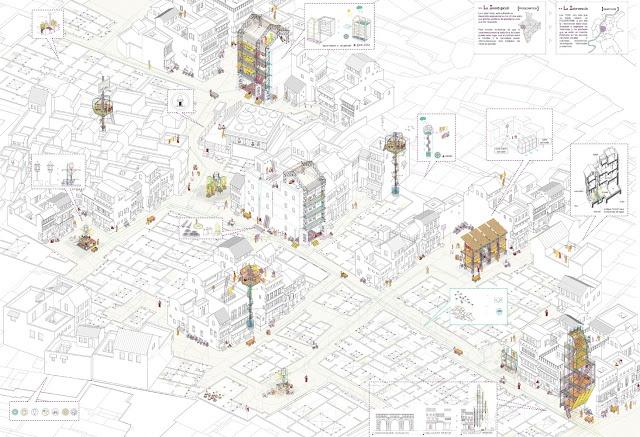 Almudena Cano | Estrategias de regeneración del espacio público. Ahmedabad.