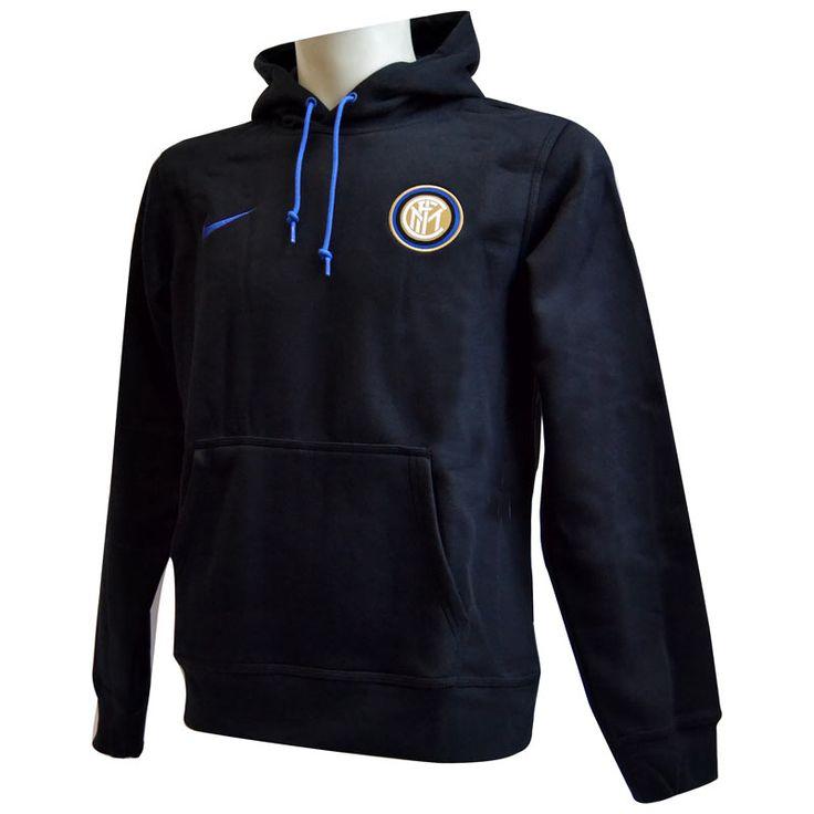 Inter Felpa Cappuccio Nera JUNIOR 2015-16
