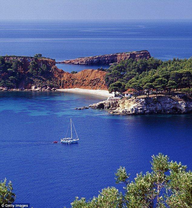 Alonissos island, Greece,la nostra isola