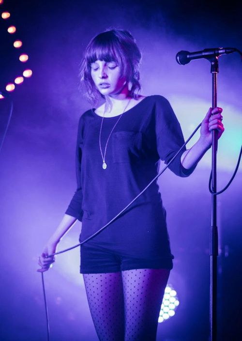 Lauren Mayberry is the coolest person ever.