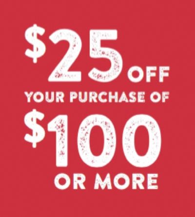 Take $25 off $100 at Sperry Outlets