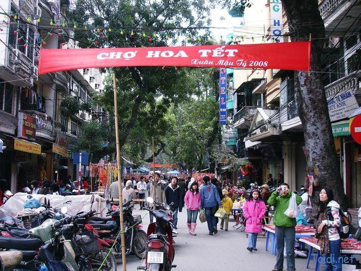 Hanoi Tet Flower Market