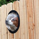 Pet Peek - the doggie window for your fence