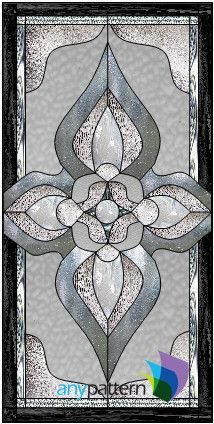Victorian-21 x 42 – anypattern.com stained glass pattern