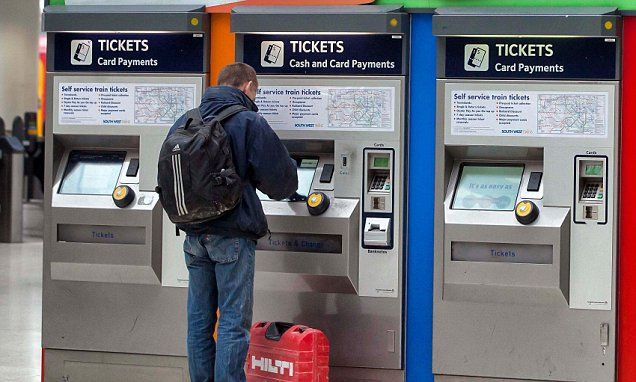 Rail ticket machines still don't give you the cheapest deals