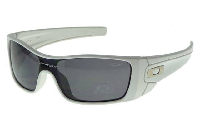 Cheap New Oakley Antix Sunglasses White Frame Gray Lens#Oakley Sunglasses