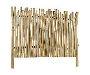 Testata da letto in legno di teak Arky - 160X140 cm