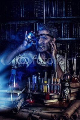 lab inventor sur fotolia inventeur homme, scientifique fou, steampunk, science fiction