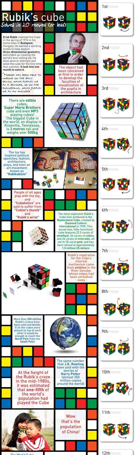 how to solve a rubix cube for kids