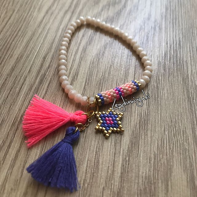 Yaz bitmedi, bitmesin adlı çalışmam #miyuki #miyukilove #miyukibeads #miyukibileklik #miyukiaddict #handmade #handmadejewelry #handmadejewellery #madewithlove #bileklik #bracelet #takı #taktakıştır #aksesuar #jewellery #summer #yaz #renkli #pink #purple #neon #simgenintakıları #leydimiyuki #izmir #izmirturkey #perlesmiyuki