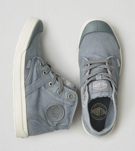 Blue Palladium Pallarue Hi-Top Sneaker