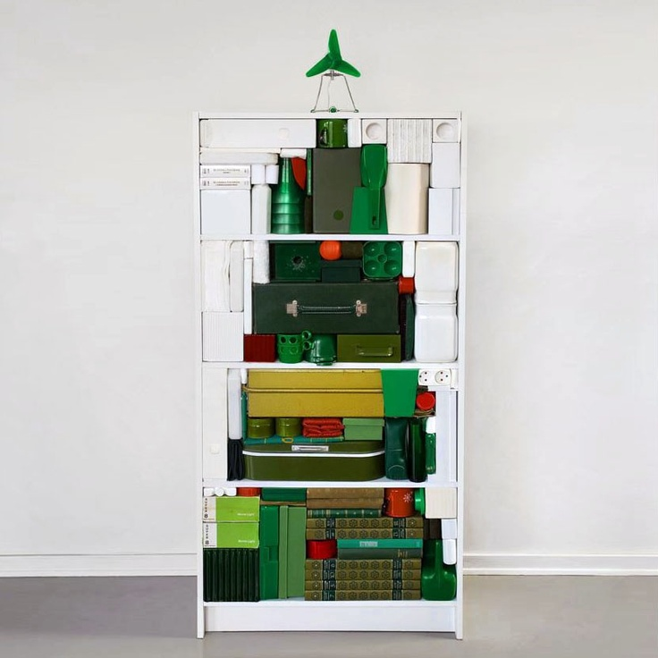 Kerst-kast - De alternatieve Kerstboom