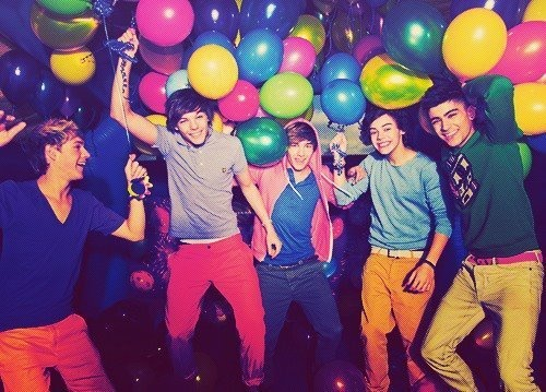 : Party'S, Direction Infection, Parties, One Direction, Balloon, Boy, Direction 3, Onedirection