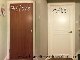 Image result for painting builder grade interior doors