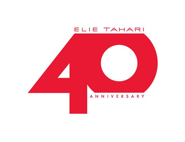 Elie Tahari -40th anniversary logo and creative assets on Behance