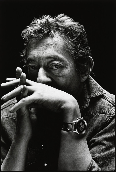 Serge Gainsbourg by Nigel Parry.