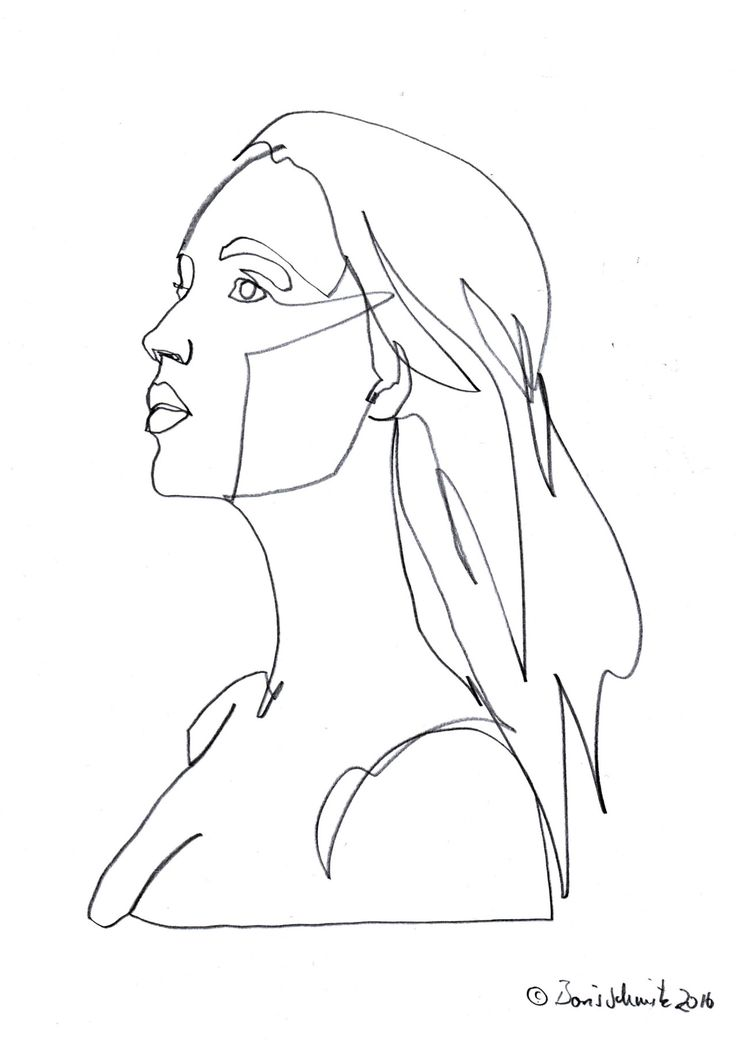 Teachertube Contour Line Drawing : Boris schmitz years old studying art and german
