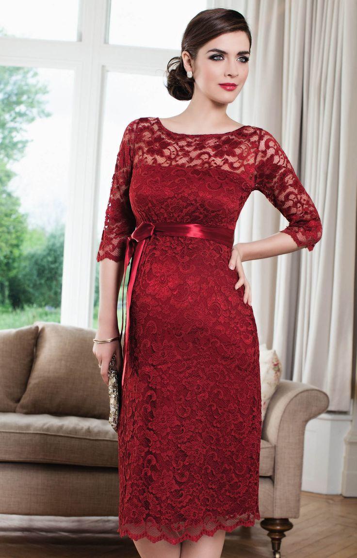Amelia Umstandskleid kurz (Moulin Rouge) - Umstandshochzeitskleider, Abendgarderobe und Partykleidung by Tiffany Rose.