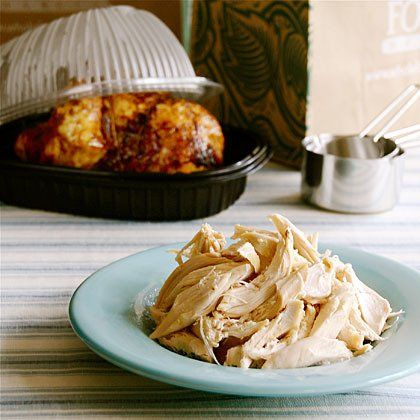 One Woman, One Rotisserie Chicken, and Five Days:  A Menu Plan   Cooking for One