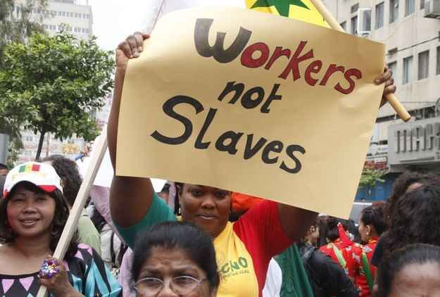 The Middle East Is The Worst Place To Be A Domestic Worker, New Report Says While legal conditions are improving in Latin America, in the Middle East and Asia domestic workers face some of the worst abuses. The Domestic Workers Convention is a groundbreaking treaty adopted in 2011 to establish the first global standards for domestic work, entitl...
