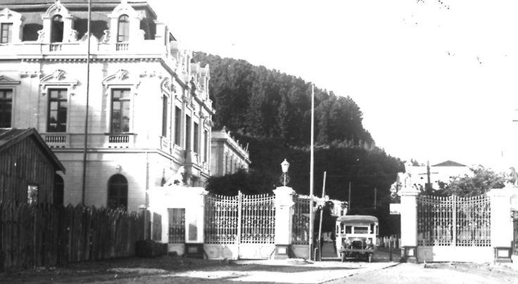 Puerta de los Leones, Talcahuano 1940.