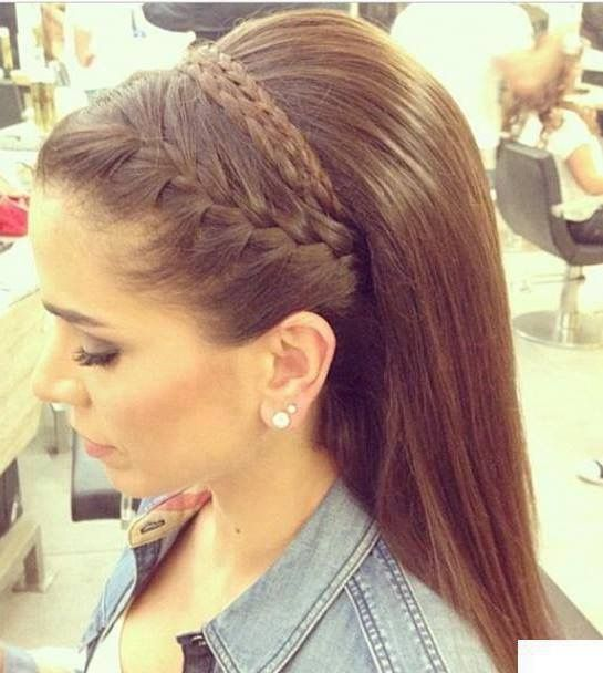 Hairstyle braid / coiffure tresse