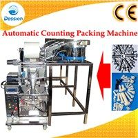 Automatic counting packaging machine for nuts and bolts