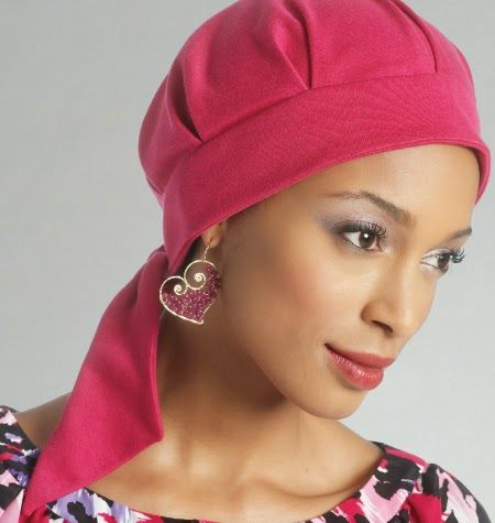 chemo caps sewing patterns - Google Search