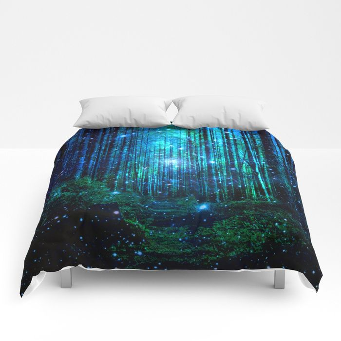 Buy magical path Comforters by haroulita. Worldwide shipping available at Society6.com. Just one of millions of high quality products available.