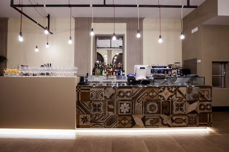 D'Italia, bar and restaurant in Vercelli, Italy. Architect Arianna Pozzuolo