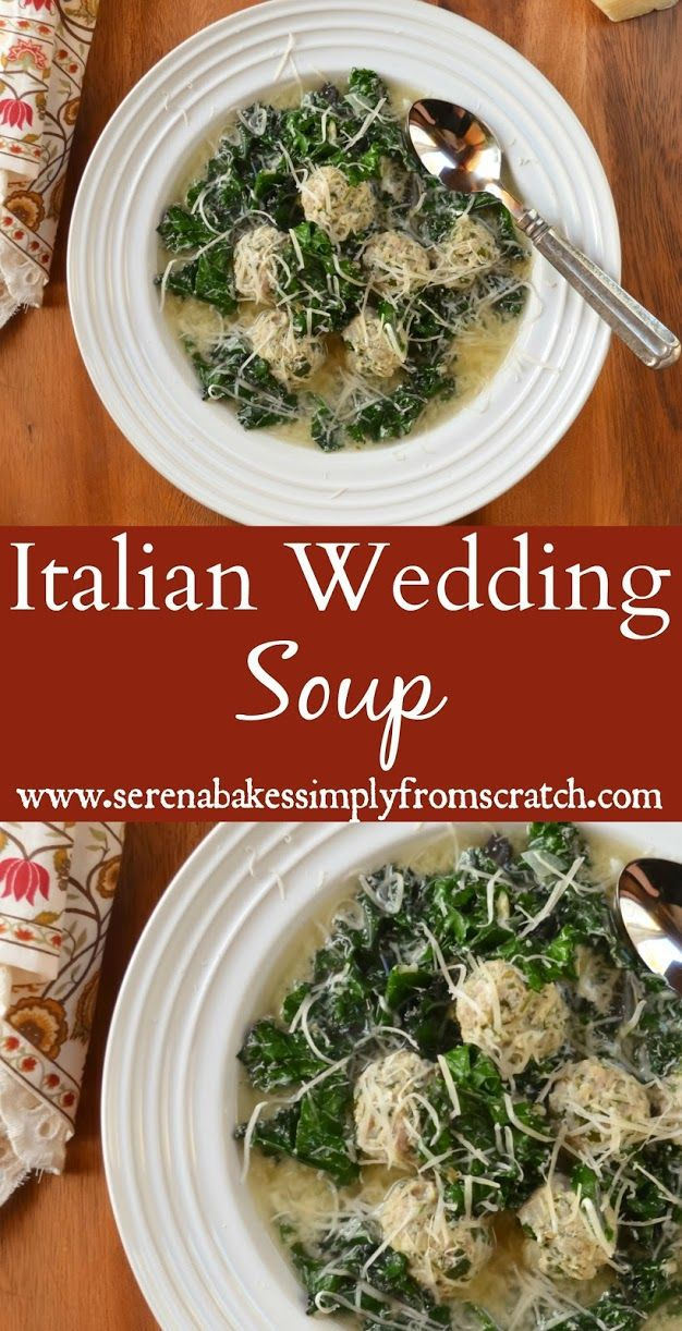 Italian Wedding Soup a delicious bowl of comfort!