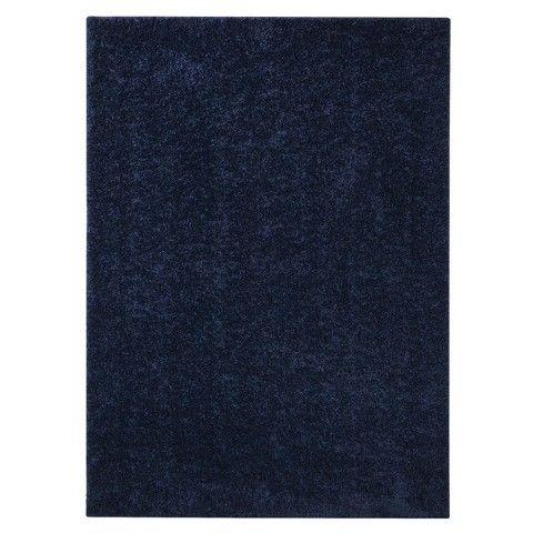 your basic navy blue rug from target master bedroom