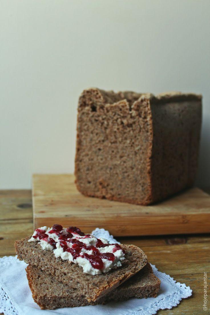 Pão de trigo 100% integral ( na máquina de fazer pão )