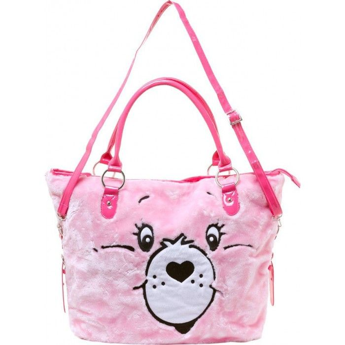 Care Bear Furry Porn - This fun officially licensed Care Bears Stare Tote Bag by Iron Fist  features a furry embroidered Cheer Bear face greeting you!