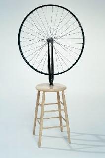 Roue de bicyclette - Marcel Duchamps   1913