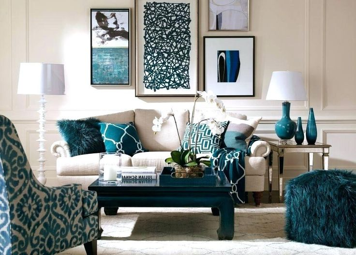 image result for tan and teal living room ideas  living