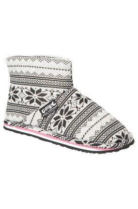 Cool Shoe - Pantofle Kapcie skarpety po domu zimowe Wrap