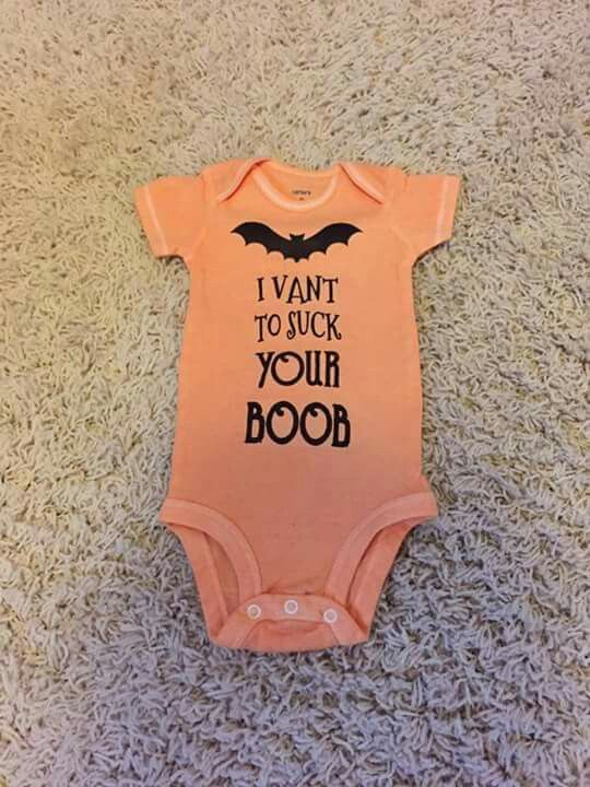 Halloween baby onesie
