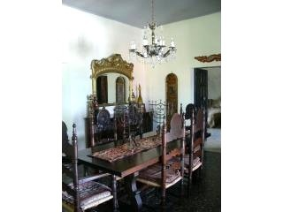 The dining room in the house Glenna and Gary and I rented in Taxco in March, 2012.